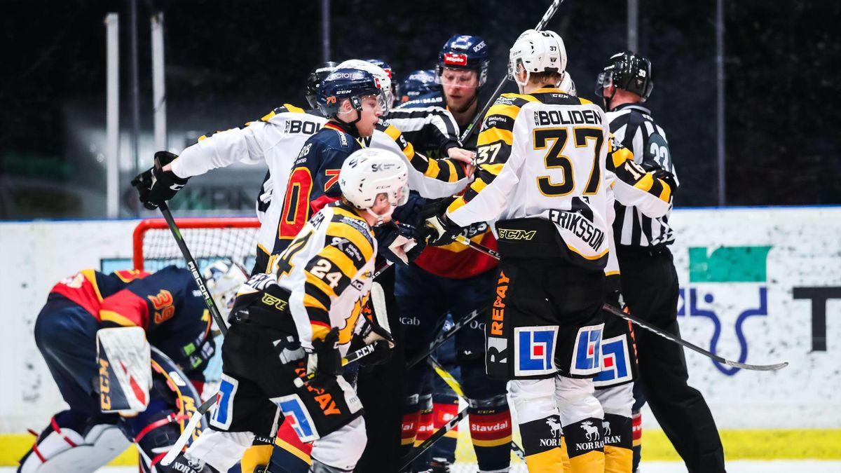 Djurgardens-Skelleftea - playoff SHL 2019 - Imago