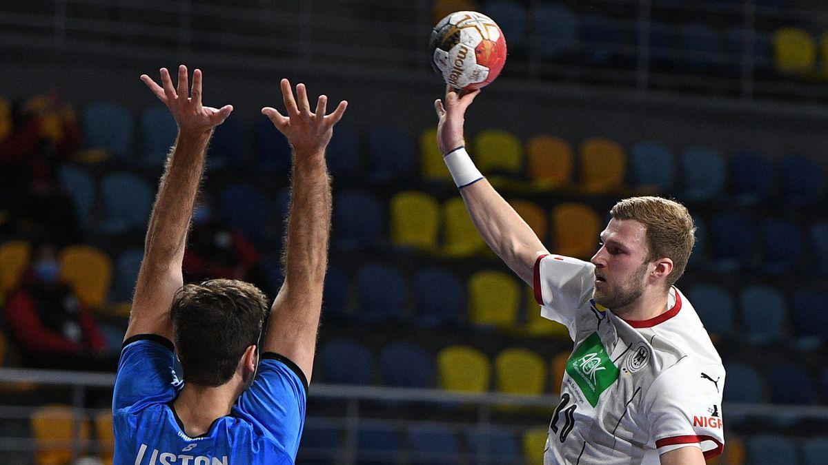 Philipp Weber (Deutschland) gegen Uruguay