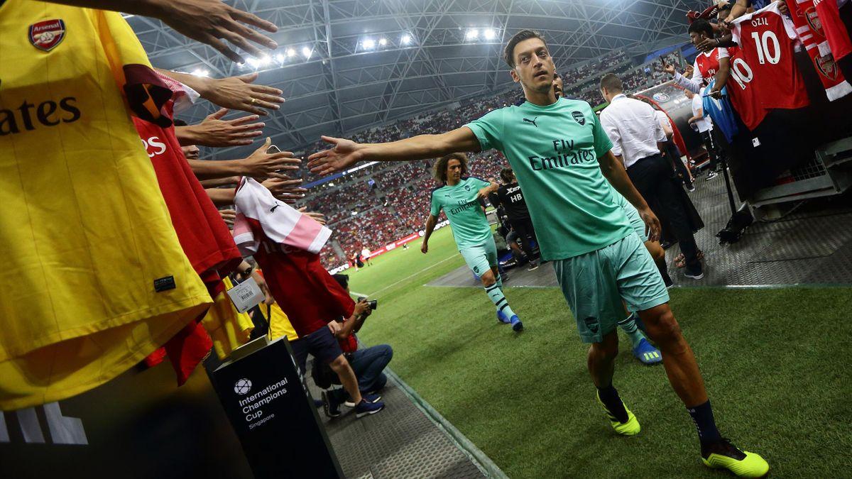 Mesut Özil vom FC Arsenal