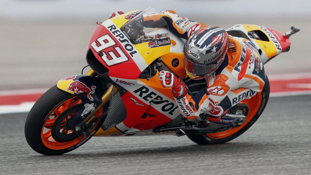 Marc Márquez (Repsol Honda) en el Gran Premio de las Américas