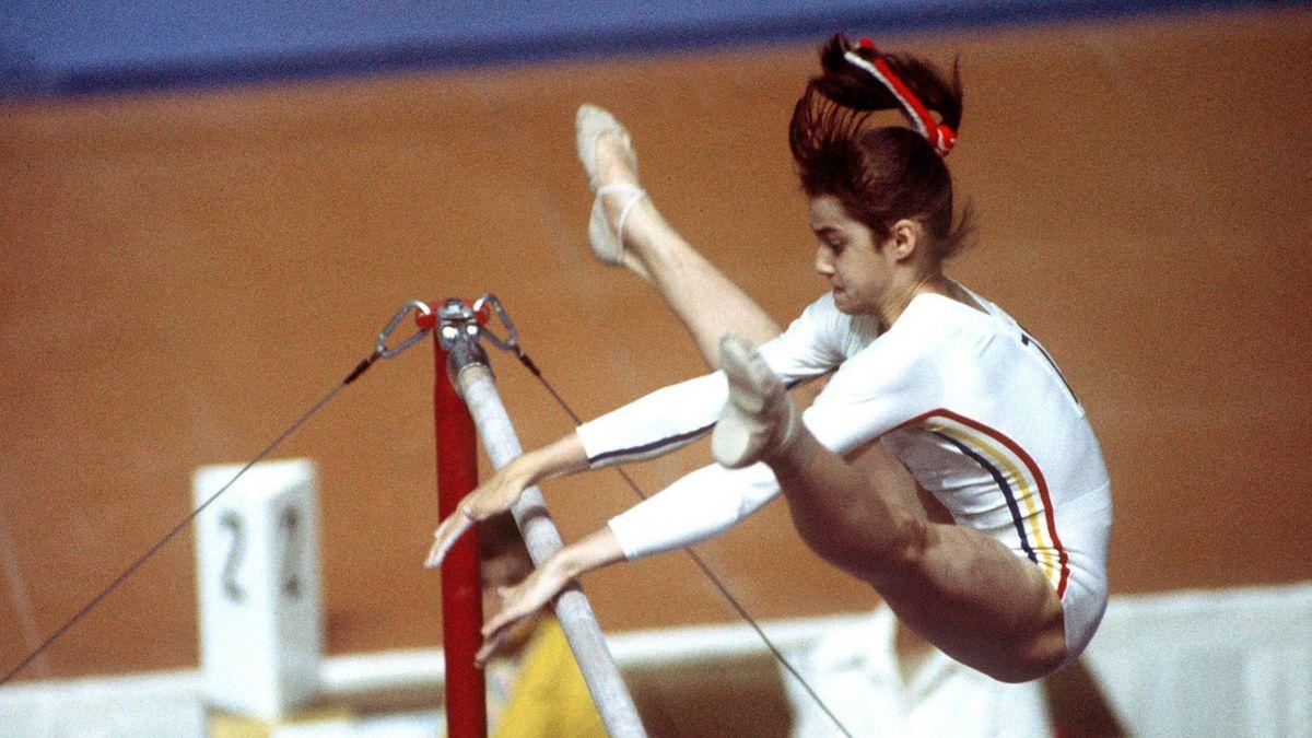 Nadia Comaneci, la Jocurile Olimpice de la Montreal (1976)