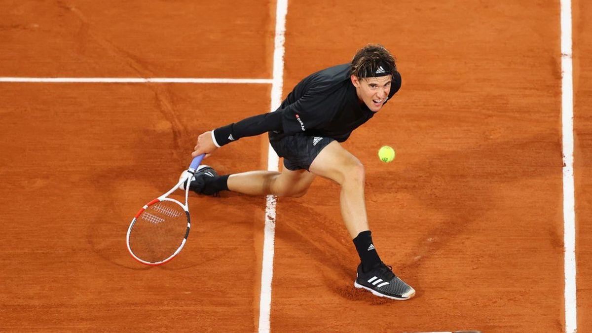 Dominic Thiem, debut perfect la Roland-Garros