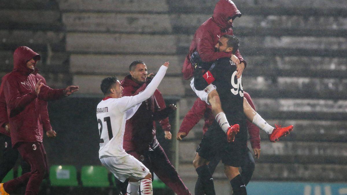 Milan, calificare dramatică în grupele Europa League