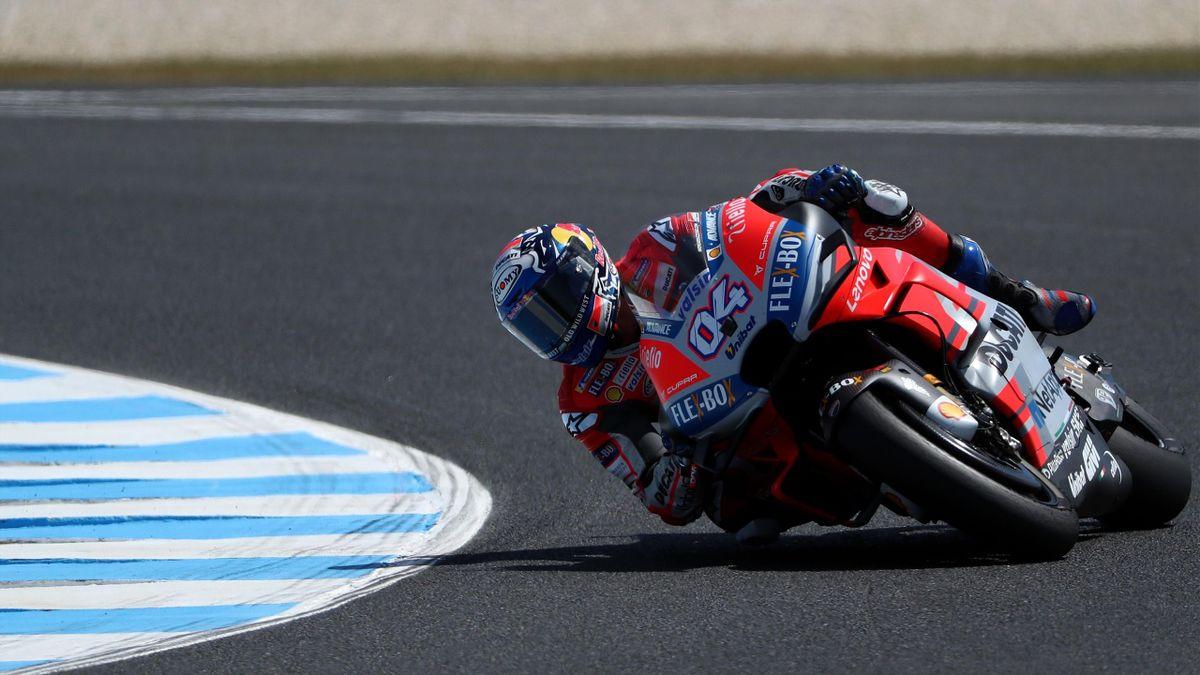 Andrea Dovizioso (Ducati Team) au Grand Prix d'Australie 2018