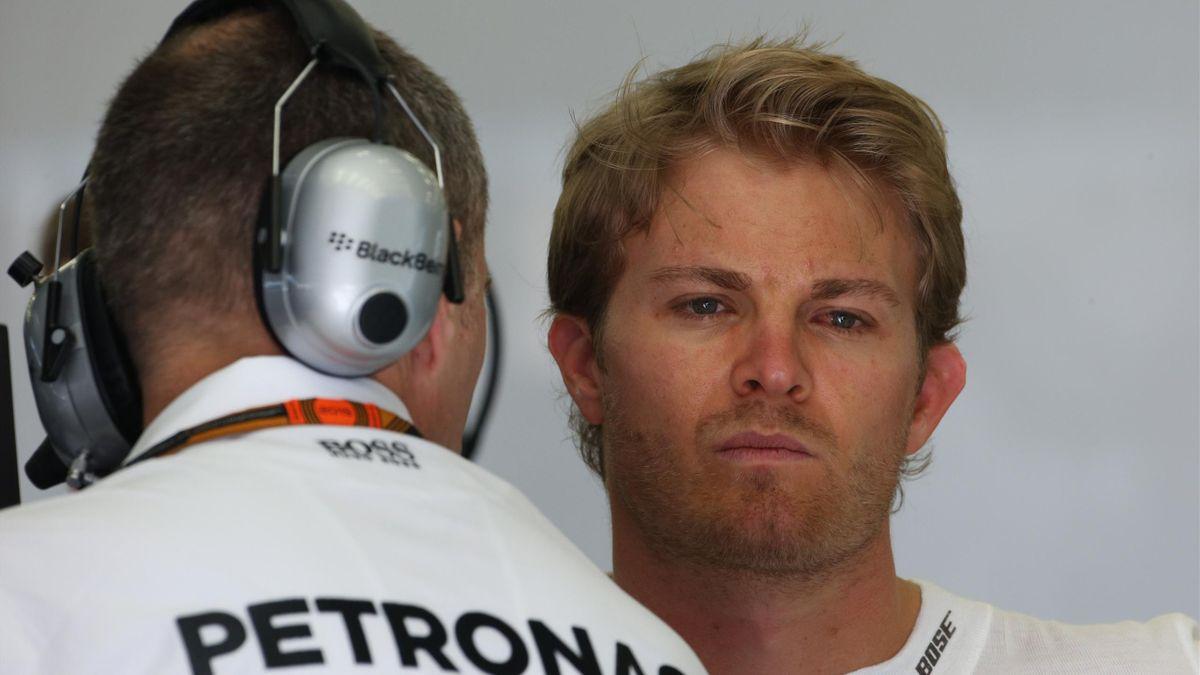 Nico Rosberg (Mercedes) au Grand Prix de Bahreïn 2015