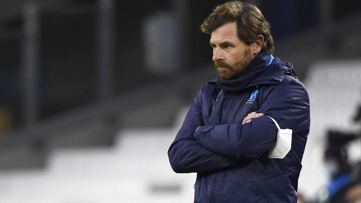 André Villas-Boas, l'entraîneur de l'OM.