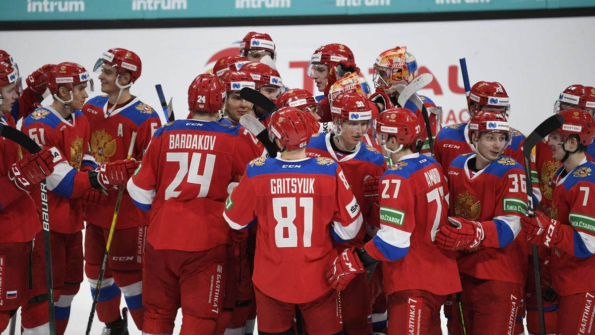 Сборная России с молодежным составом на Кубке Карьяла-2020