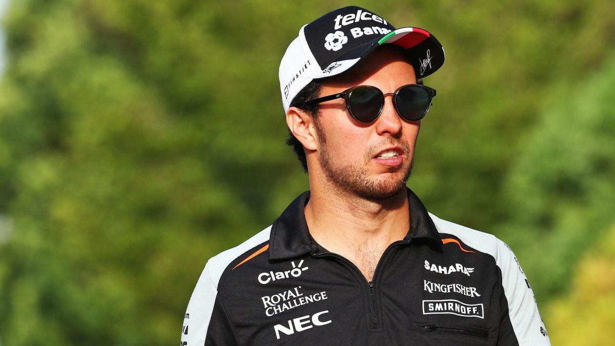 Sergio Pérez (Force India) au Grand Prix de Malaisie 2016