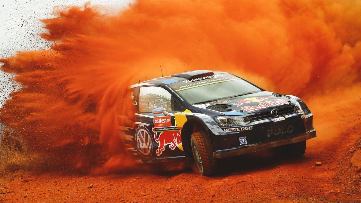 Sébastien Ogier steht nach dem ersten Tag der Rallye Australien auf dem dritten Platz und kann zum dritten Mal hintereinander Weltmeister werden