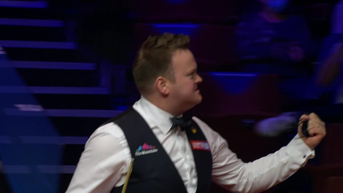 'That is magnificent!' - Murphy's brilliant black to win frame