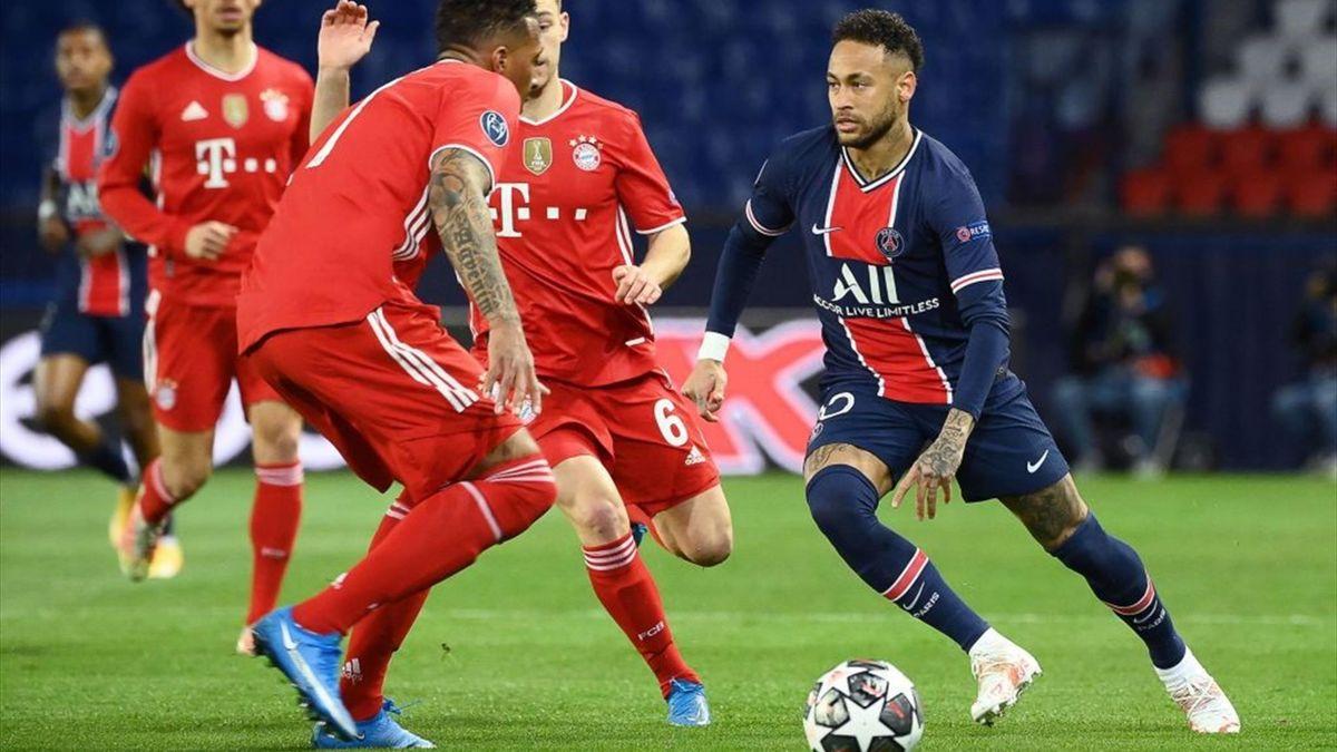 PSG-Star Neymar gegen den FC Bayern