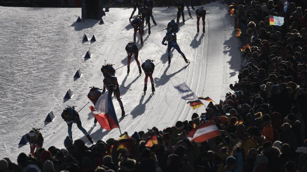 Szene Biathlon-Weltcup