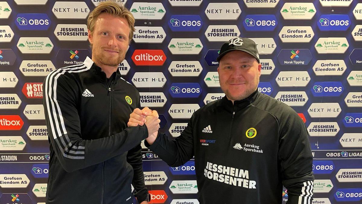 Andreas Aalbu og Steffen Landro. Foto: Ull/Kisa Fotball