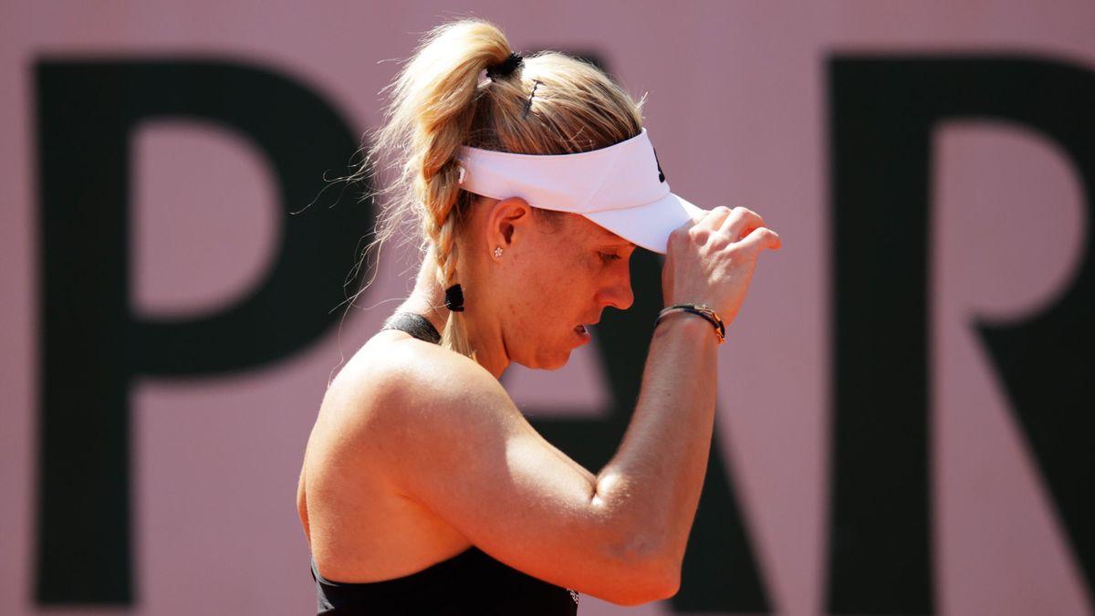 Angelique Kerber bei den French Open in Paris