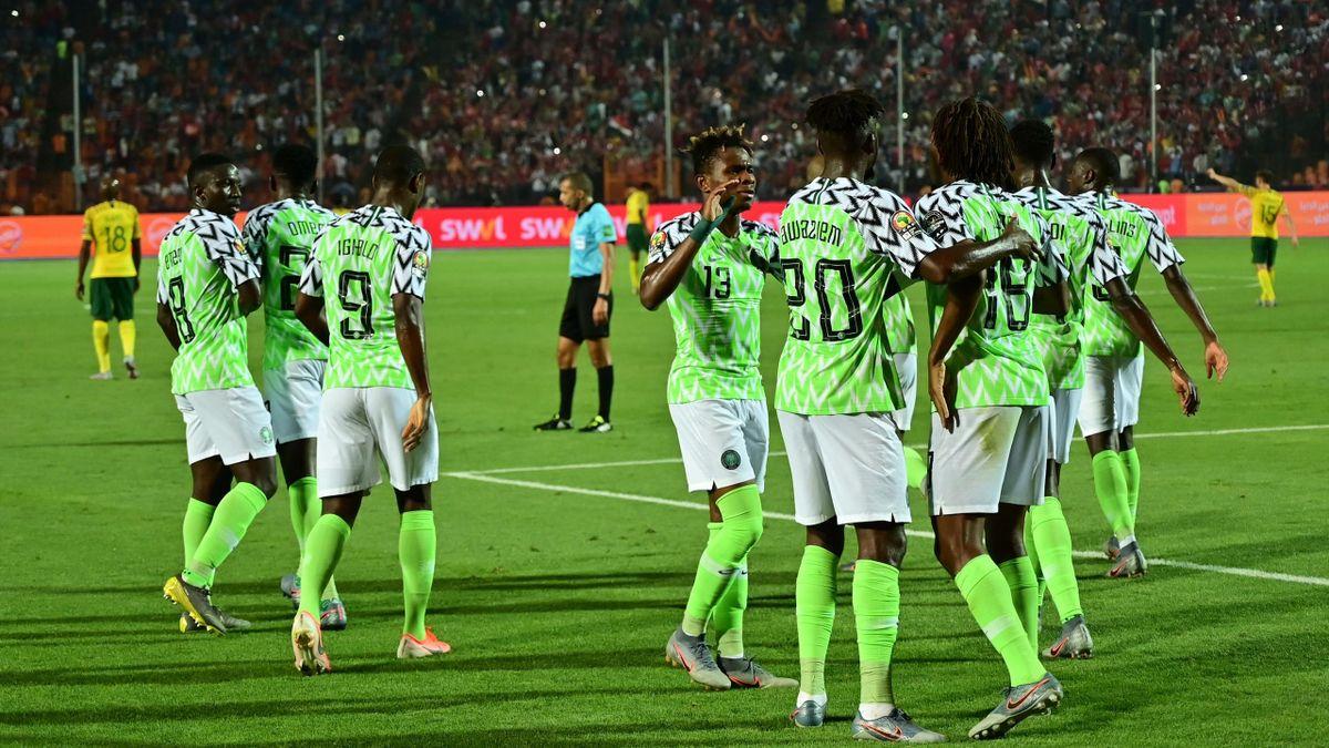 Copa África 2019, Nigeria-Sudáfrica
