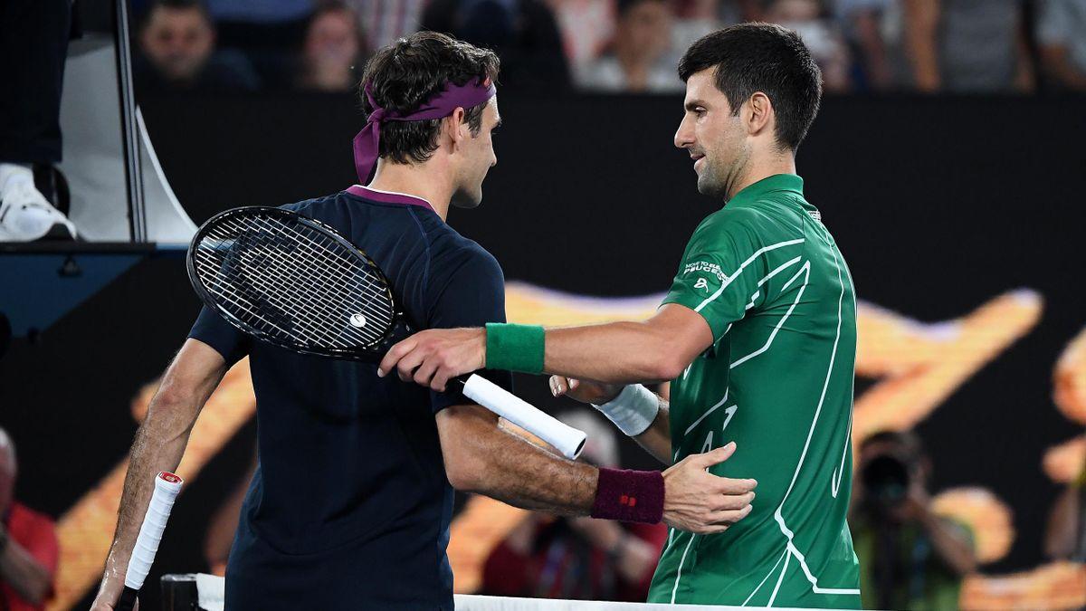 Nole Djokovic, Roger Federer, Wimbledon, Getty Images