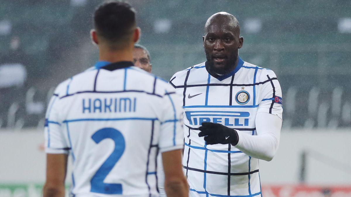 Achraf Hakimi, Romelu Lukaku, Inter, Getty Images