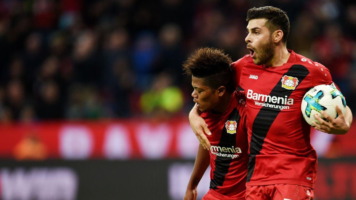 Bayer 04 Leverkusen Leon Bailey Kevin Volland