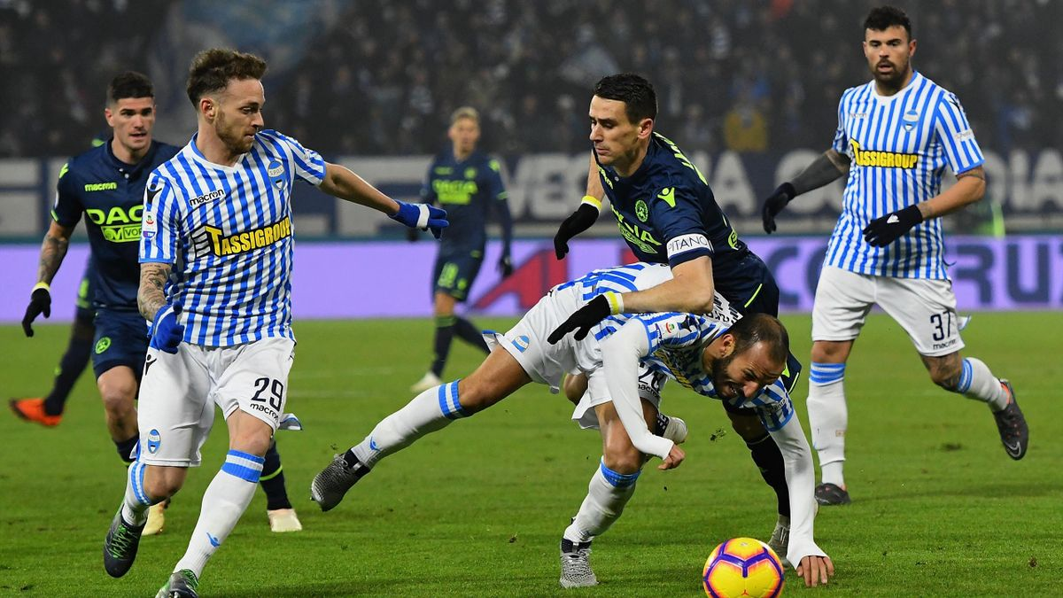 SPAL-Udinese, Serie A 2018-2019 (Getty Images)