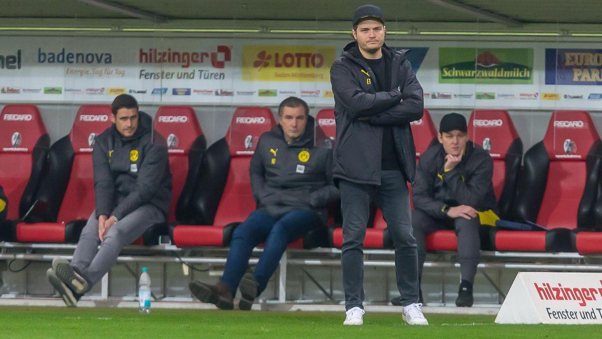 Edin Terzic ist seit Mitte Dezember Cheftrainer bei Borussia Dortmund