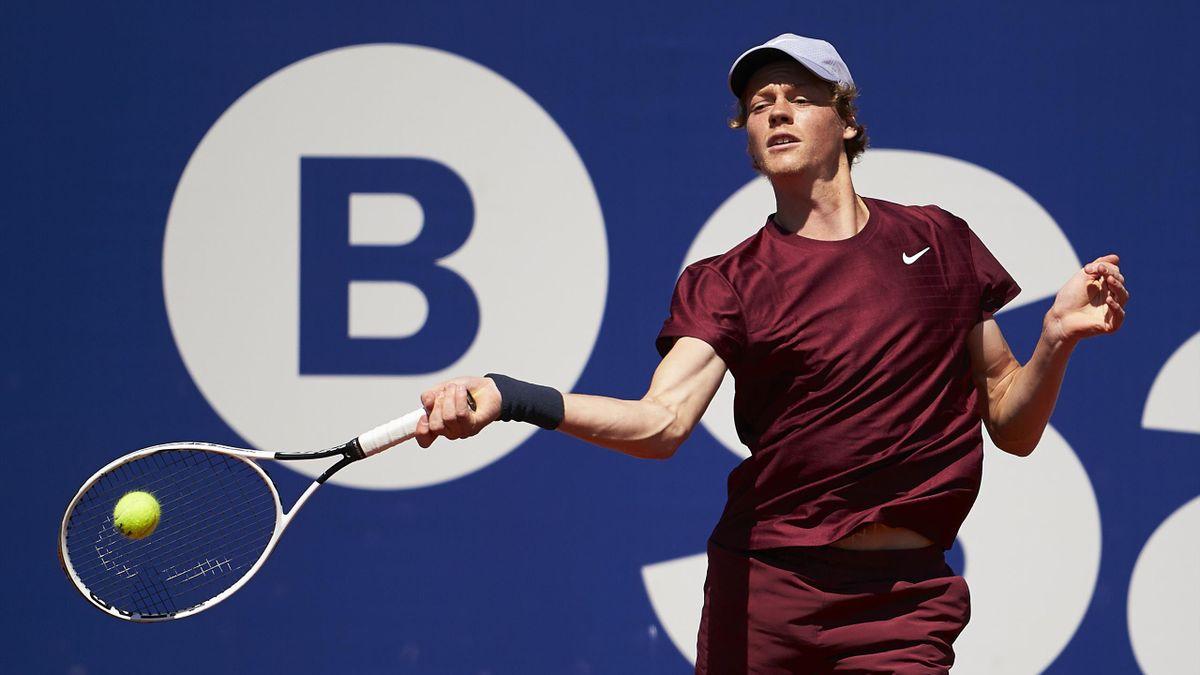 Jannik Sinner, ATP Barcellona, Getty Images
