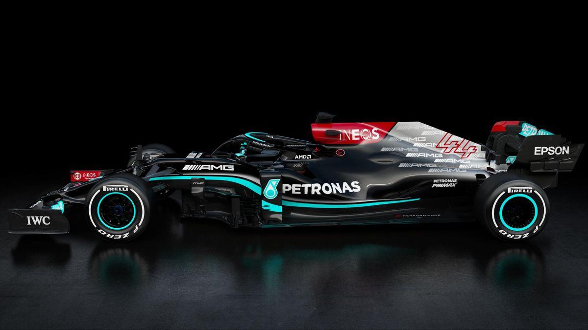 Mercedes presenta la macchina per il Mondiale 2021