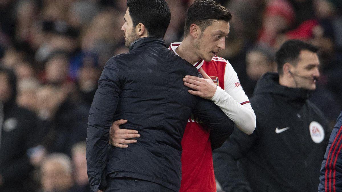 Mikel Arteta & Mesut Ozil
