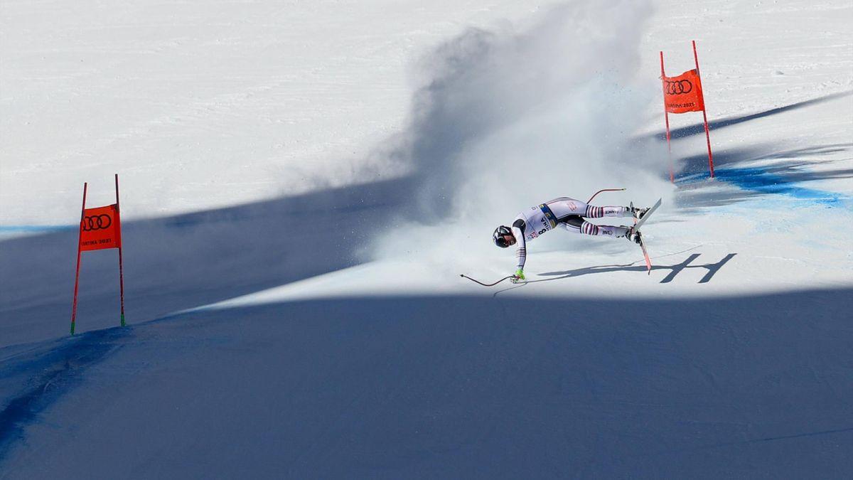 Maxence Muzaton in Cortina d'Ampezzo 2021