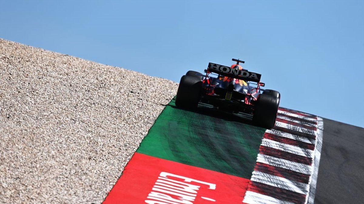 Red-Bull-Pilot Max Verstappen reizt in Portugal die Tracklimits aus