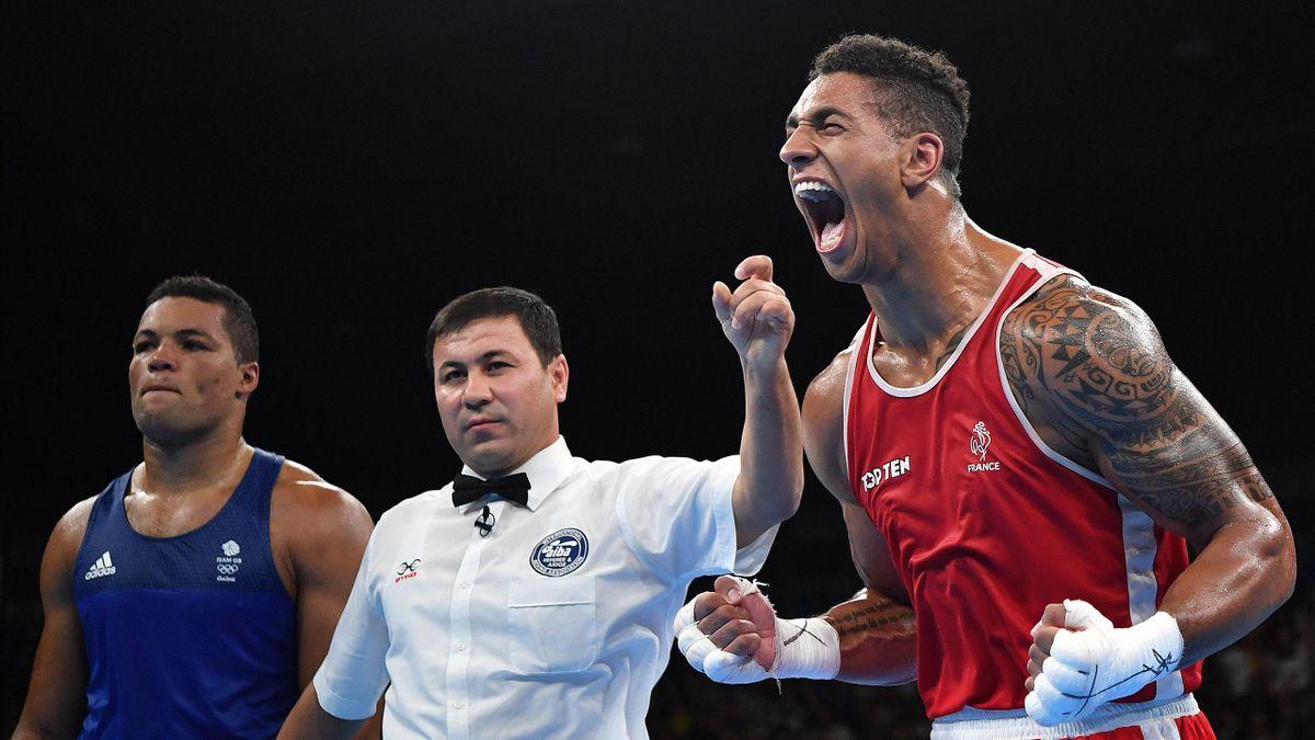 Tony Yoka, champion olympique des +90kg à Rio