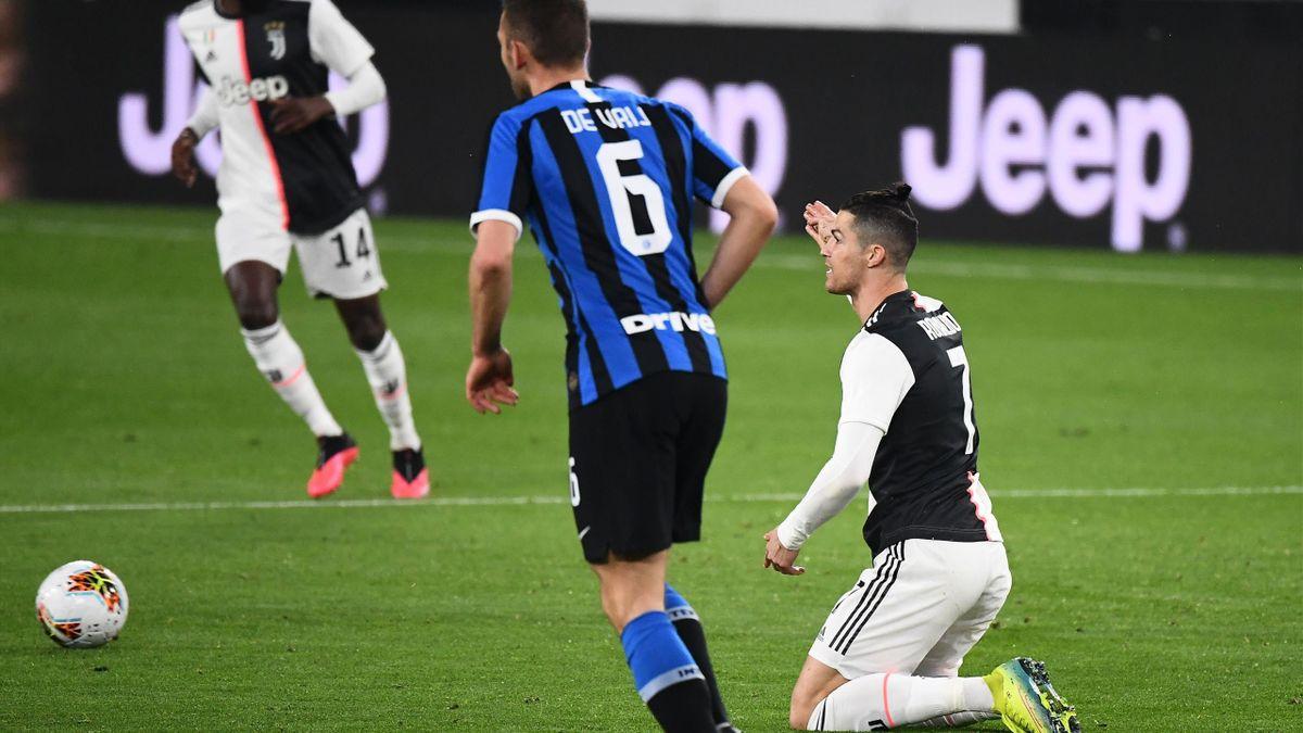 Ronaldo - Juventus-Inter - Serie A 2019/2020 - Getty Images
