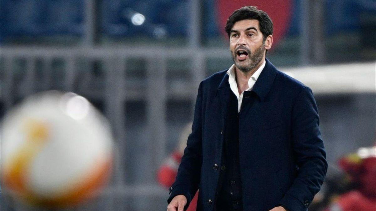 Paulo Fonseca - Roma-Ajax Europa League 2020-21