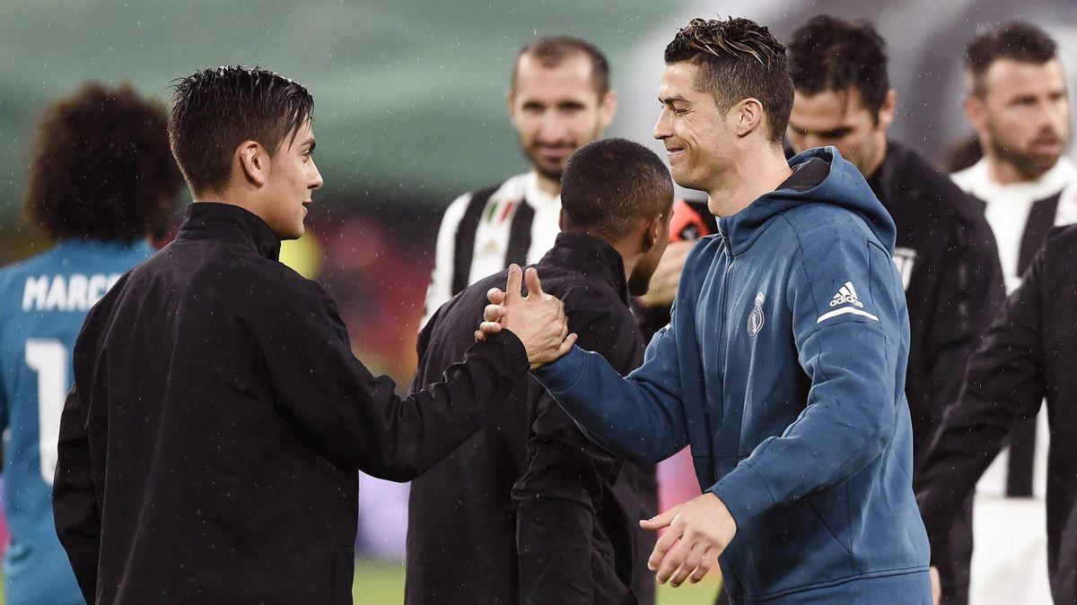 Paulo Dybala and Cristiano Ronaldo – PUB NOT ITA