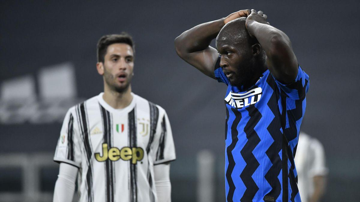 Romelu Lukaku, Rodrigo Bentancur, Juventus-Inter, Getty Images