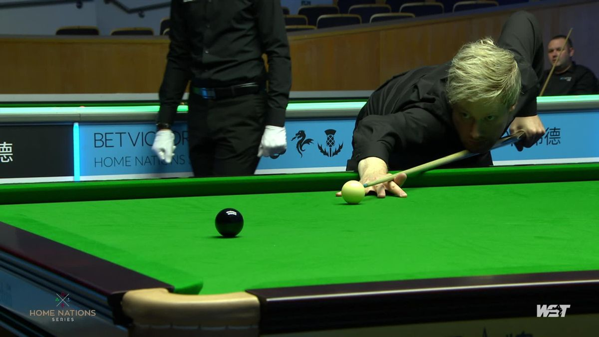 'We are glad he is back!' – Robertson makes it eight frames from eight at the Northern Ireland Open