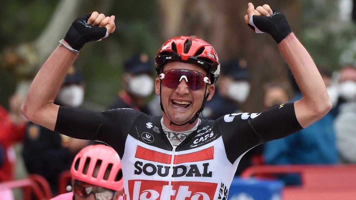 Tim Wellens a câștigat etapa a 14-a din Vuelta 2020