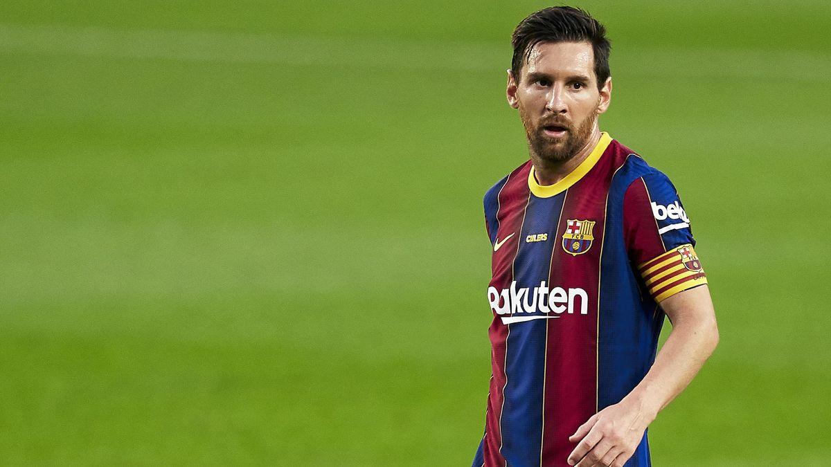 Lionel Messi (FC Barcelone), le 19 septembre 2020 face à Elche