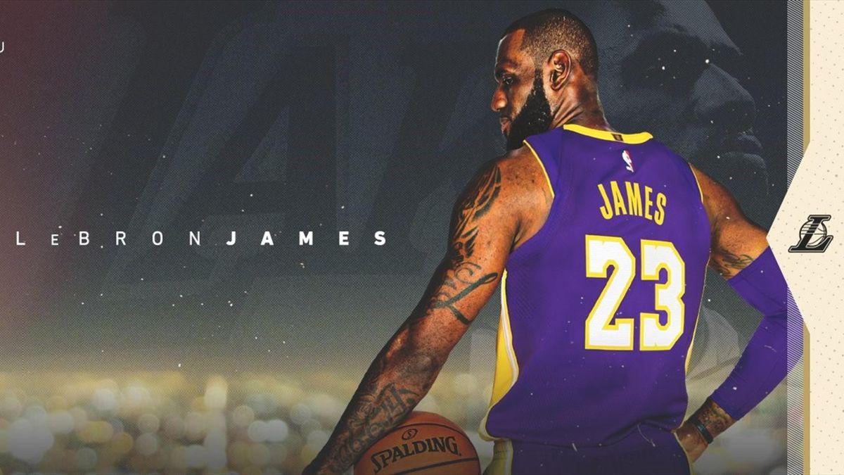 LeBron James (Credit @Lakers)