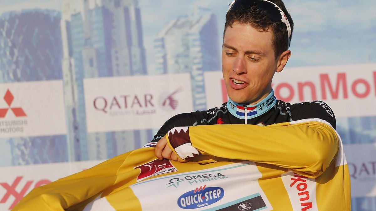 Niki Terpstra, líder del Tour de Qatar