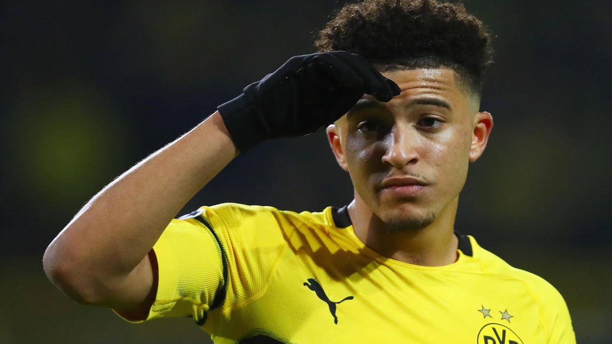 """Jadon Sancho este dorit de Manchester United, dar Dortmund a refuzat o ofertă de 89 de milioane de £ din partea """"diavolilor"""""""