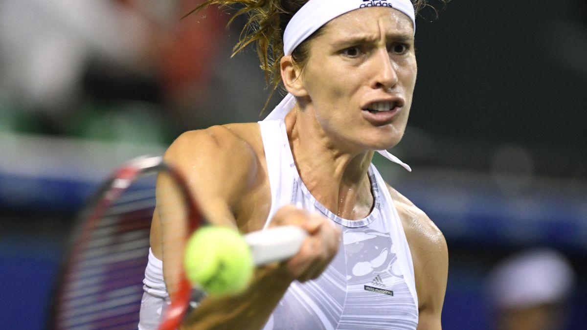 Andrea Petkovic musste in der ersten Runde aufgeben