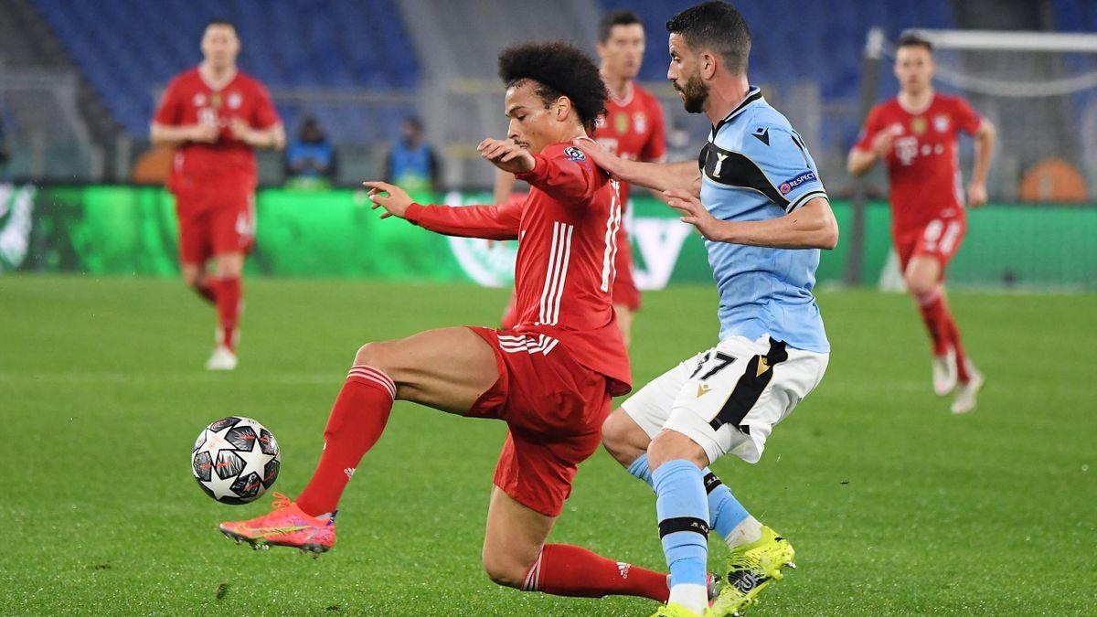 Musacchio, Sané - Lazio-Bayern Monaco - Champions League 2020/2021 - Imago