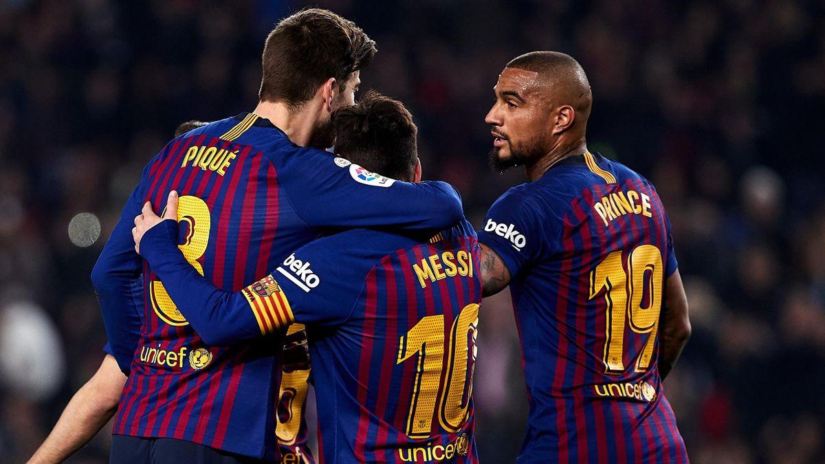 Kevin-Prince Boateng spielte sechs Monate mit Lionel Messi zusammen.