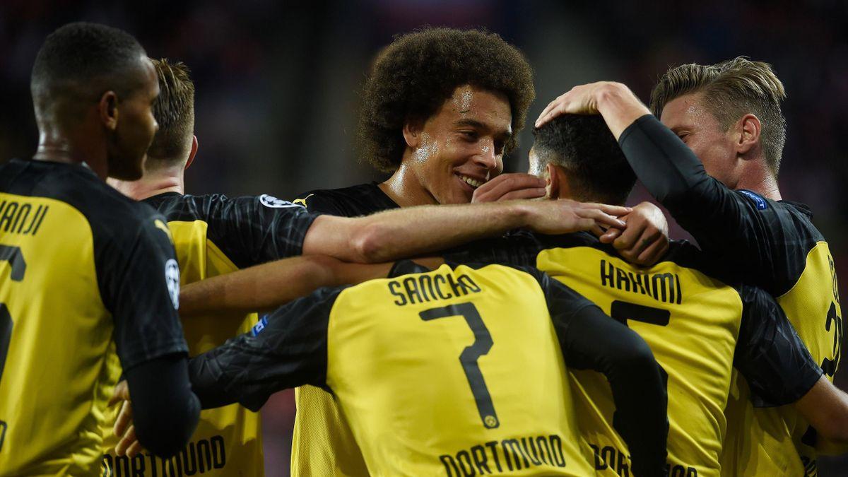 Achraf Hakimi - Slavia Prag vs. Borussia Dortmund