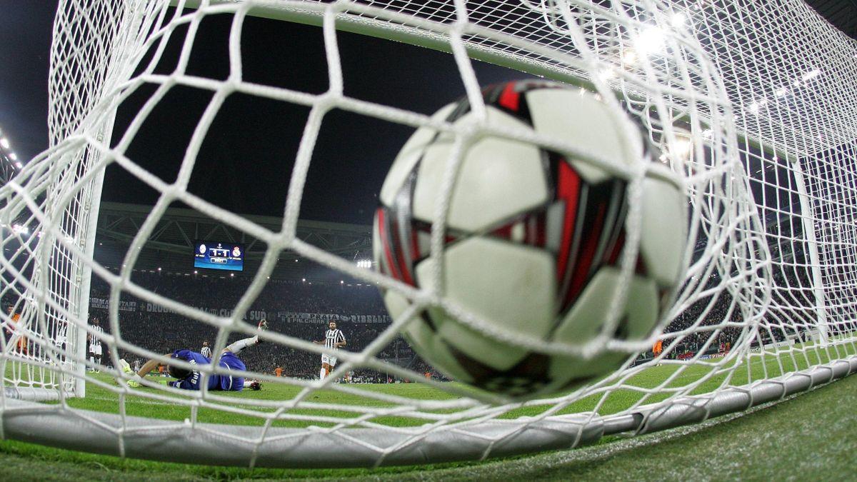 Лига чемпионов: гол