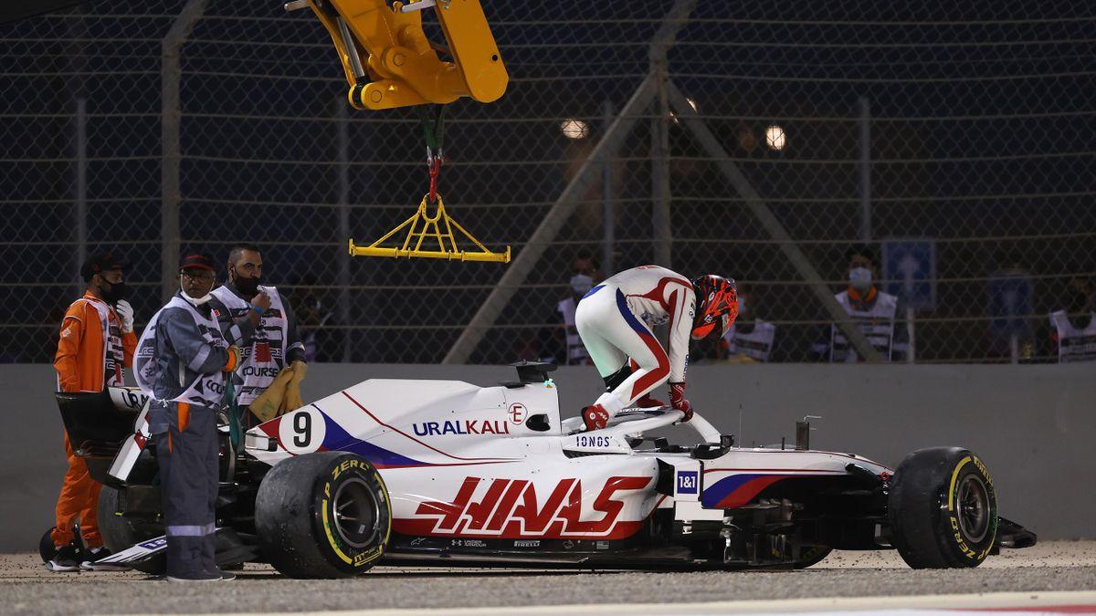 Никита Мазепин, «Хаас», Гран-при Бахрейна