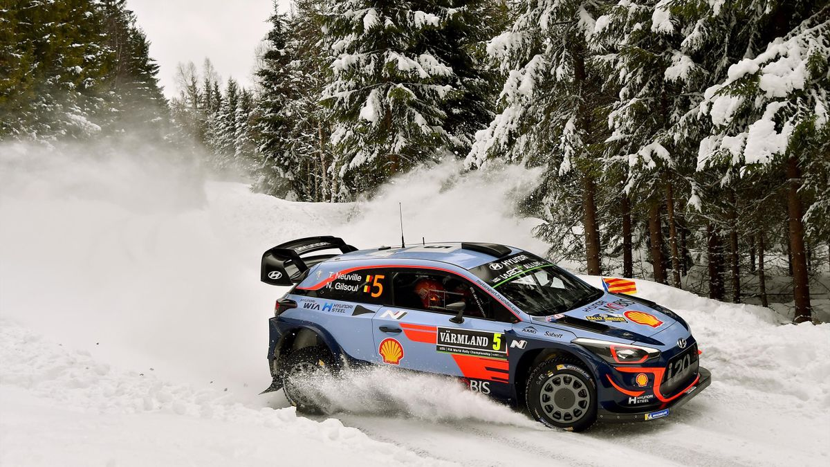 Thierry Neuville, Rally of Sweden 2018