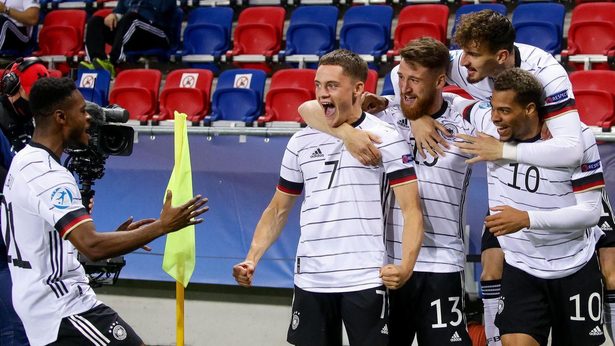 Die deutsche U21 kann im Finale am Sonntag den dritten EM-Titel holen