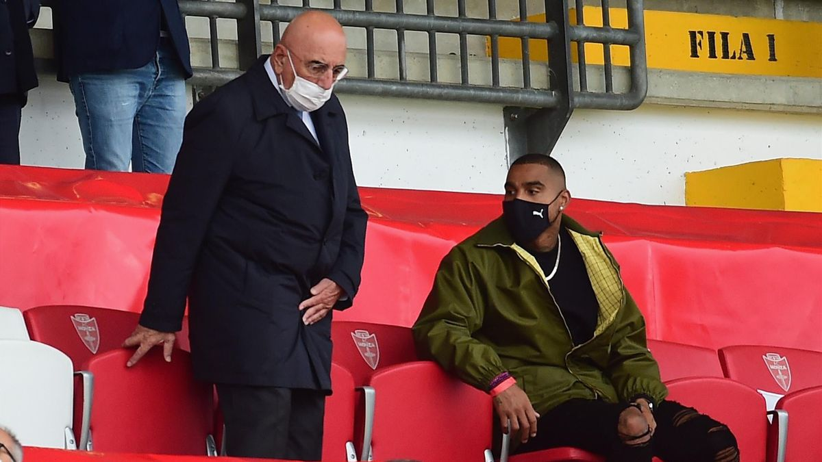 Boateng e Galliani