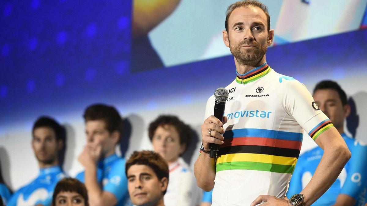Alejandro Valverde visează să poarte în 2021 din nou tricoul curcubeu